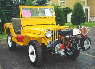 Jeep Trailer The CJ2A Owner's Pages - 1947