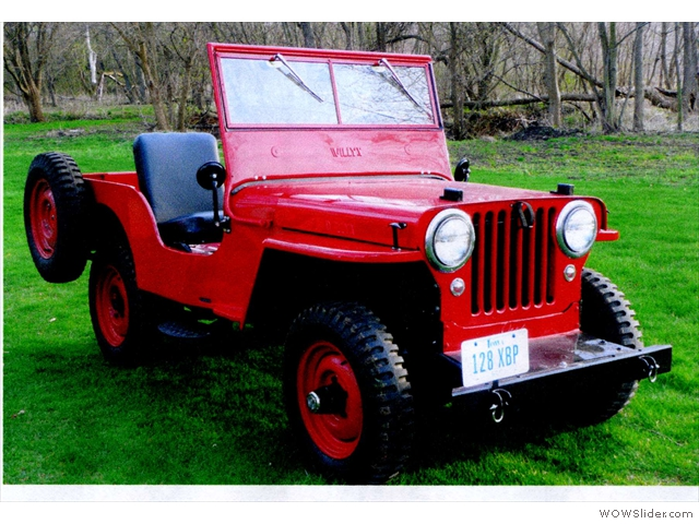 Thecj2apage Com Everything About The Willys Cj2a Jeep