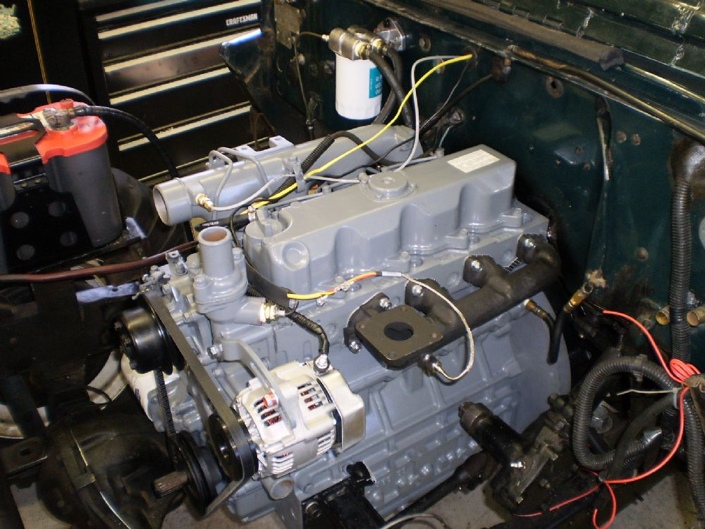 Larry's Kubota Diesel swap - The CJ2A Page Forums - Page 3