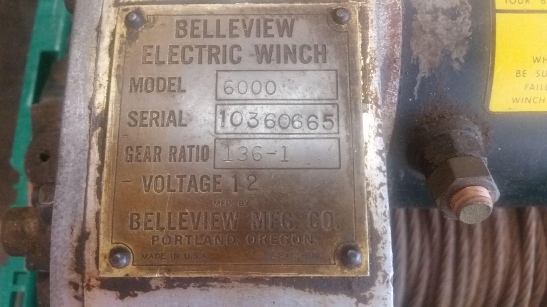 "'53 Cj3B 4 cyl D25/D44 lockrights,11"" brakes, Warn 5687 ol skool winch. '46  CJ2A Barnfind project, rear PTO drum pulley, original paint, front 11""  brakes."