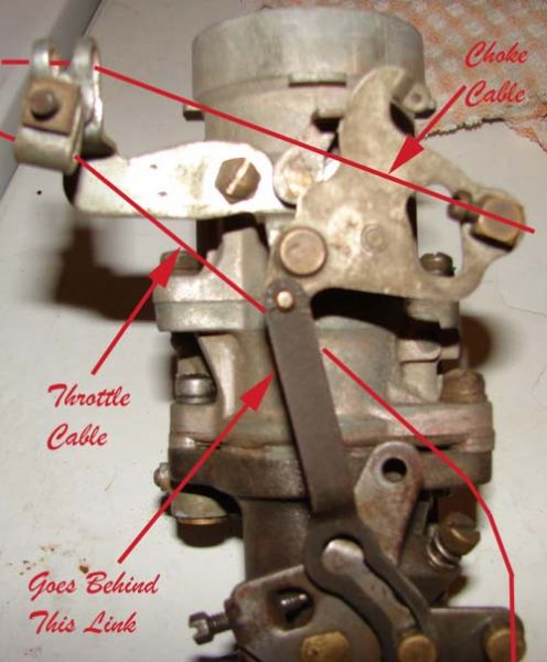 Throttle Cable Connection