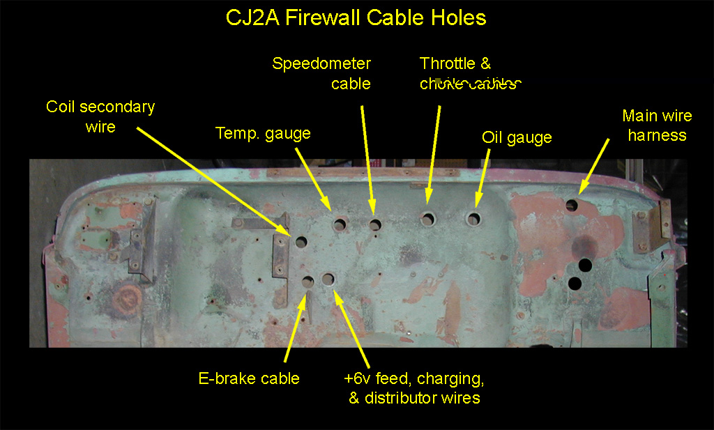 wiring harness the cj2a page forums 14 yuk4 allmylovedesign de \u2022cj2a wiring harness the cj2a page forums page 1 rh thebestphotos eu msd wiring jeep 1976