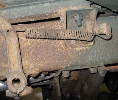 Willys Jeep For Sale >> Whee does the brake return spring go? - The CJ2A Page Forums