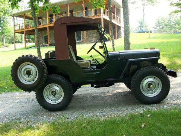 Meyers Half Cab Installed The Cj2a Page Forums