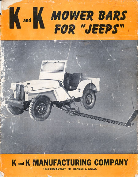 K and K Mower Bar - The CJ2A Page Forums - Page 1