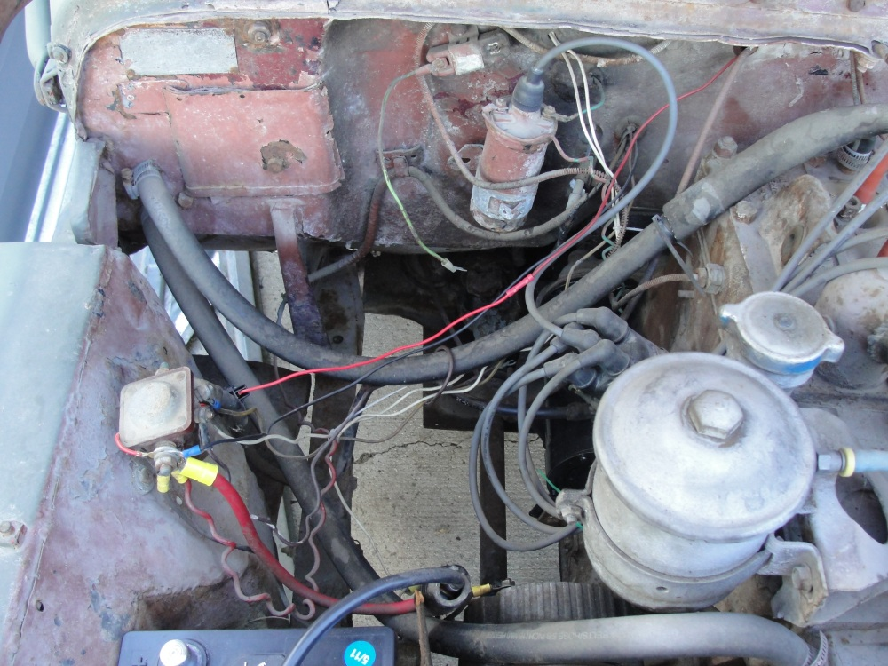 jeepster wiring diagram jeepster wiring harness re-wiring?? - the cj2a page forums