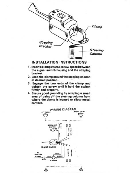 everlasting turn signal wiring diagram everlasting wiring turn signal switch wiring diagram