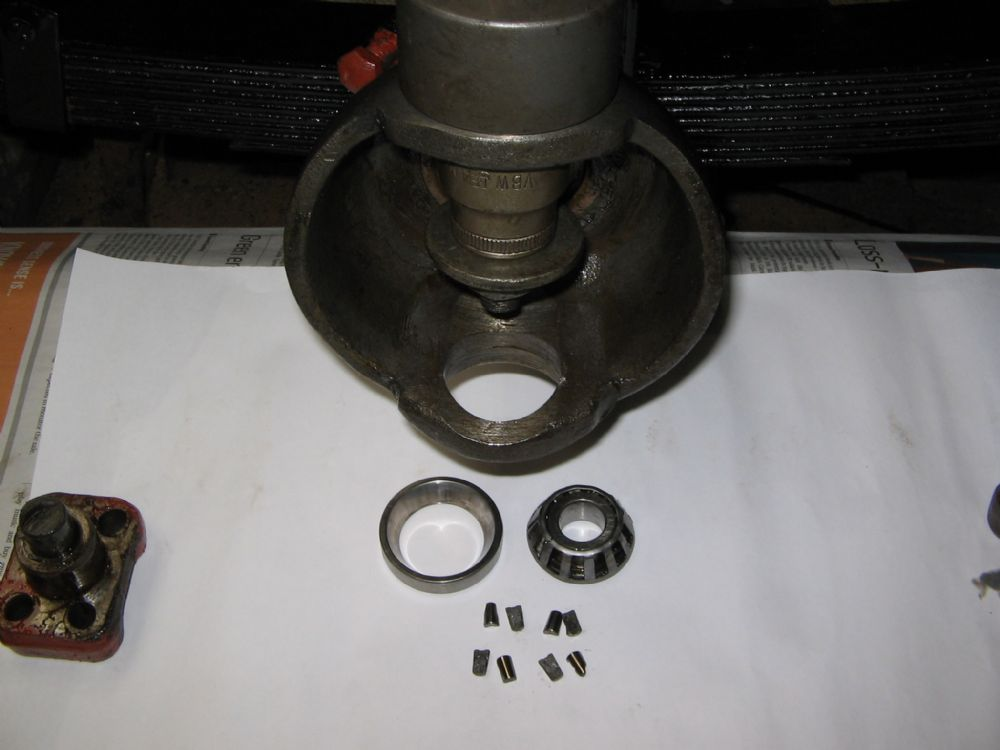 Replacing kingpin taper roller bearings - The CJ2A Page Forums