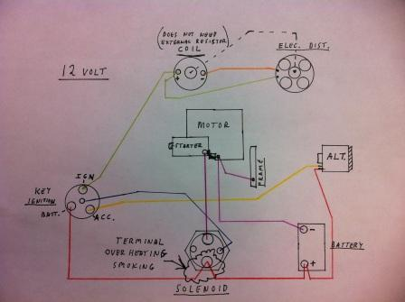 wiring solenoid overheating ??? the cj2a page forums 1947 Willys Jeep Wiring Diagram at readyjetset.co