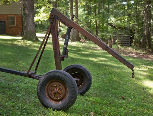 Homemade Forklift Boom : Homemade hitch mounted lift the cj a page forums