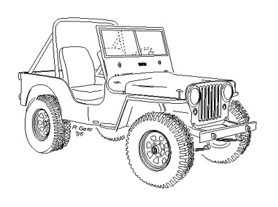 Index also Cj7 Body Mount Location 2345313 additionally Omix Ada Reviews furthermore Willys Jeep Artwork topic31122 additionally Jeep Wrangler 2006 Factory Service Manual Download Car Service. on jeep cj5 tires