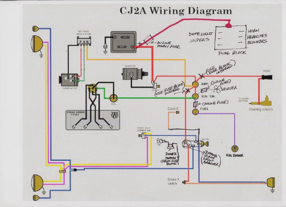 Willys Mb Wiring Diagram Cj5 Wiring Diagram Wiring Diagram