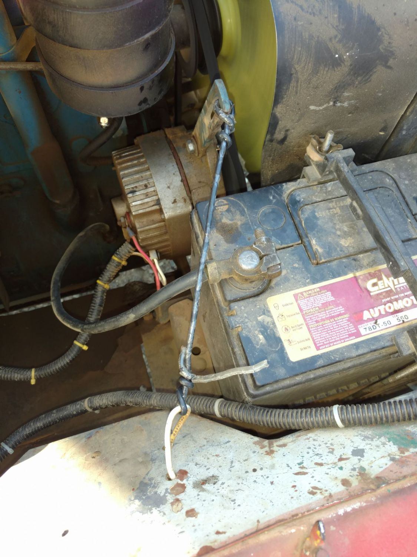 Field Repair Of Broken Alternator Bolt The Cj2a Page Forums Jeep Wiring