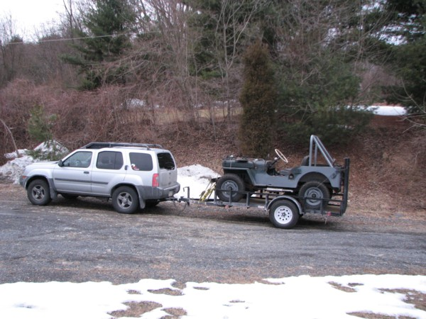 Pulling A Single Axle Open Trailer : Thoughts on towing cj a single axle trailer the