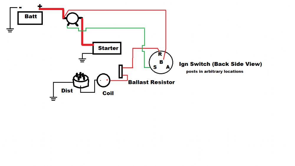 5 pole ignition switch wiring diagram battery disconnect
