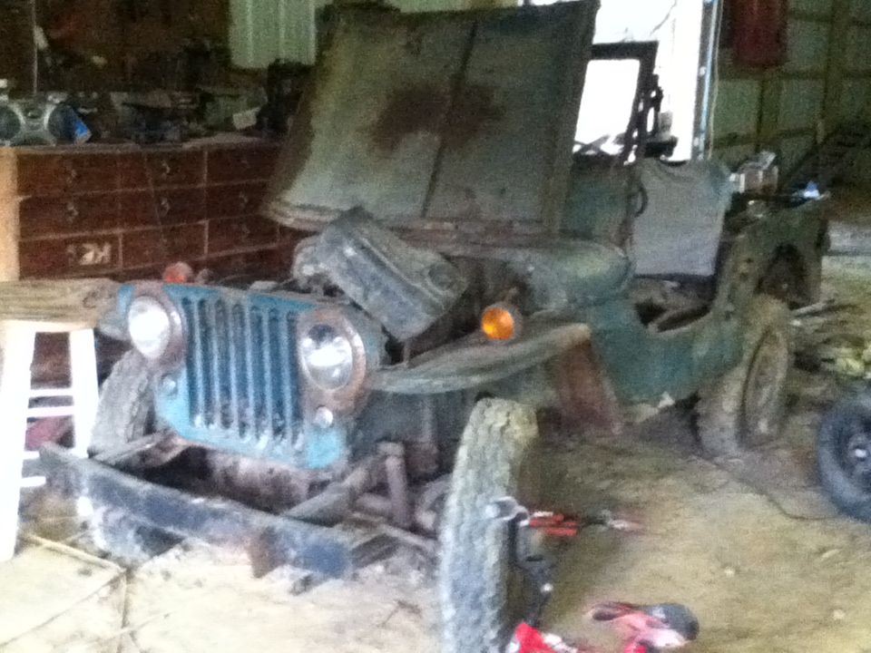 1947 Craigslist Barn Find - The CJ2A Page Forums - Page 1