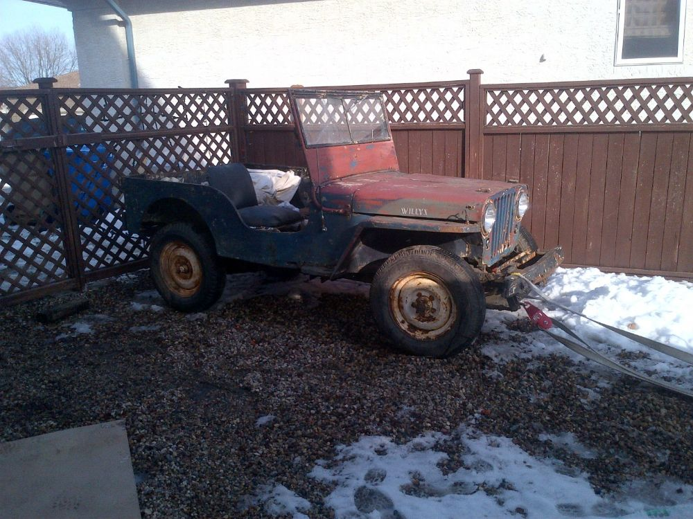 New project - \'46 CJ-2A - The CJ2A Page Forums - Page 1