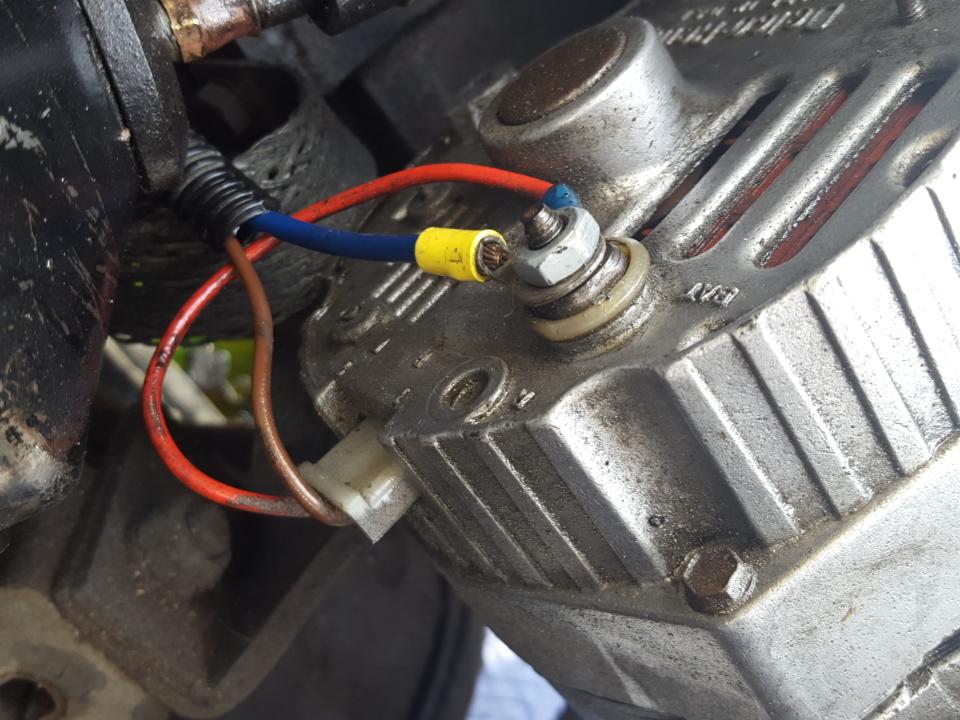 cj5 3 wire alternator wiring diagram alternator wiring the cj2a page forums  alternator wiring the cj2a page forums