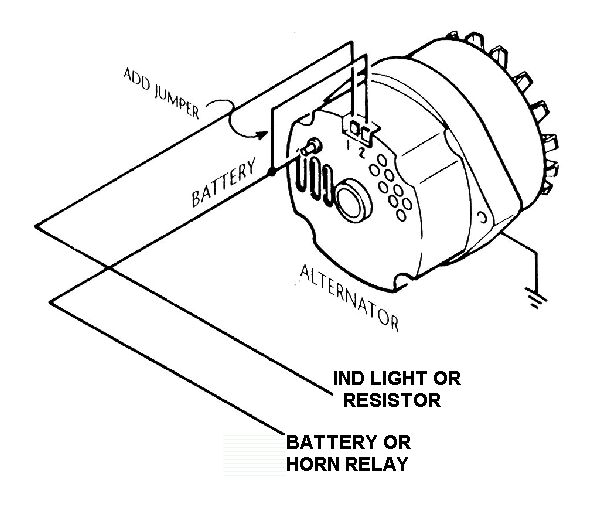 wiring diagram for alternator the wiring diagram 12v wiring diagram the cj2a page forums page 1 wiring diagram