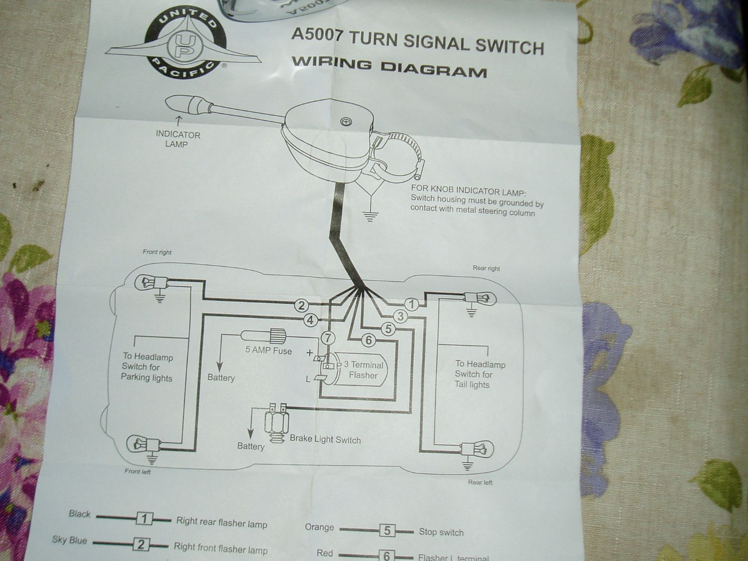 Turn Signal Wiring - The CJ2A Page Forums - Page 1 | Turn Signal Wire Diagram 6 |  | The CJ2A Page