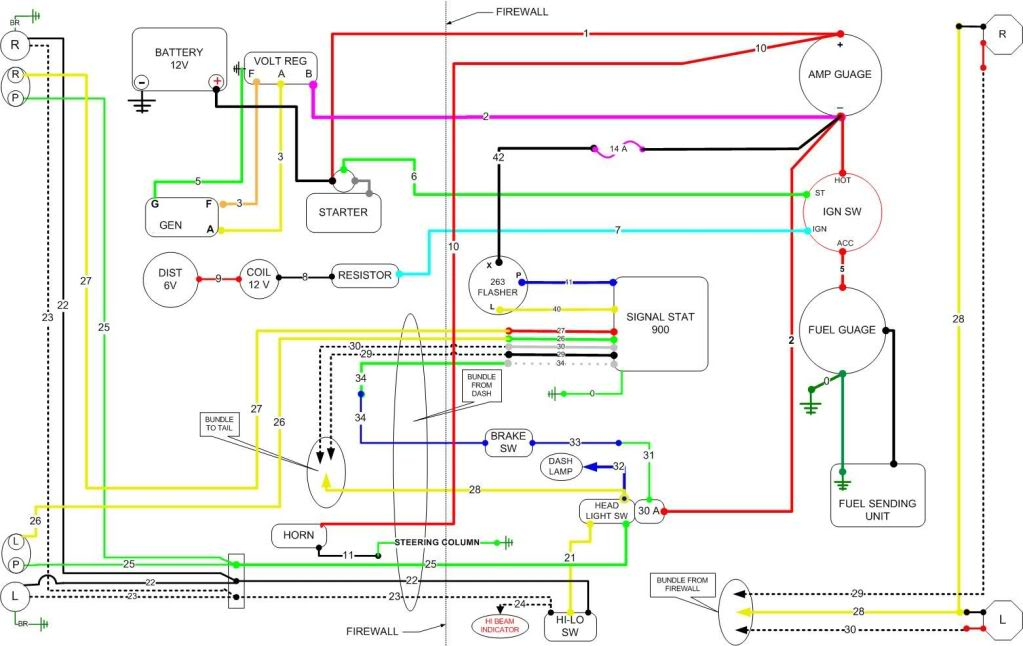 WillysWiring jeep cj2a electrical wiring diagram wiring diagram online