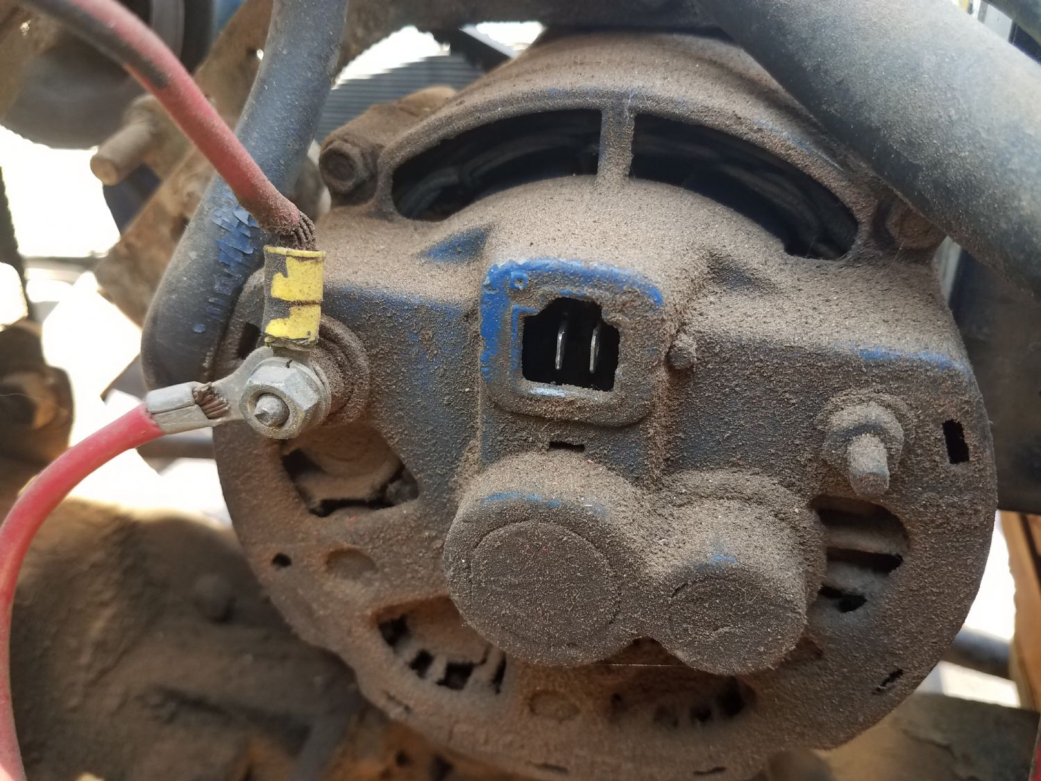 Alternator Wiring Help The Cj2a Page Forums How Does Old Single Wire Delco Work