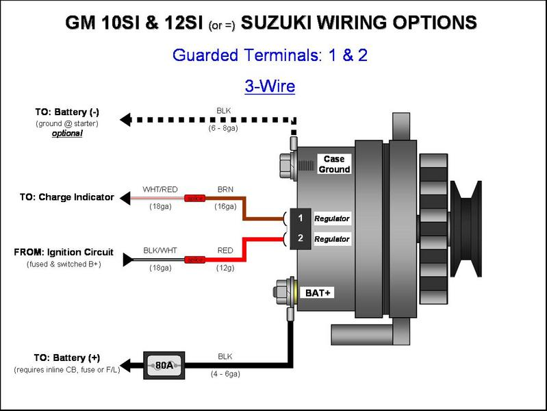 one wire alternator wiring diagram one wire alternator wiring the cj2a page forums page 1 delco remy one wire alternator wiring diagram one wire alternator wiring the cj2a